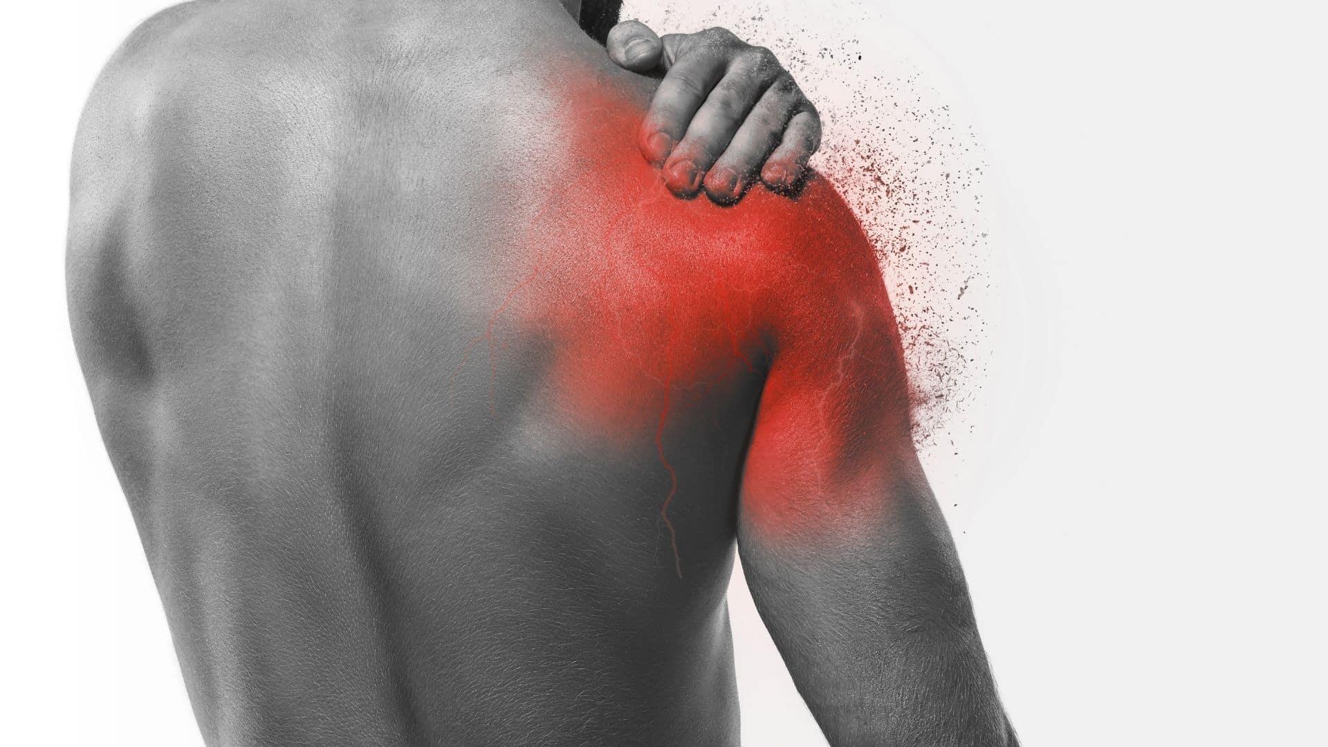 Unter achseln schmerzen den Schmerzen unter